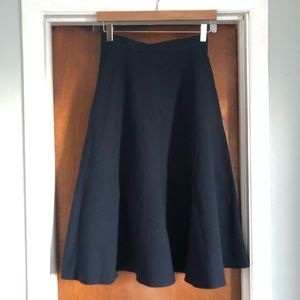 Uniqlo Seersucker Circular Skirt